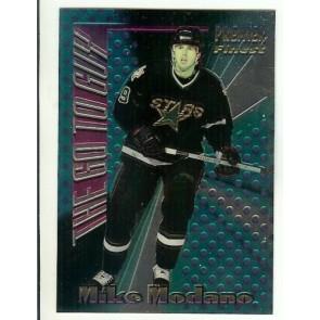 1994-95 TOPPS PREMIER THE GO TO GUY MIKE MODANO Insert Card # 4 DALLAS