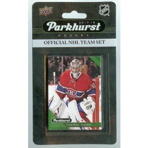 2017-18 Parkhurst Montreal Canadiens Team Set 10 Card Set