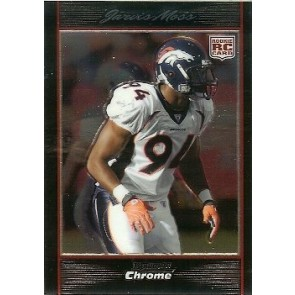 2007 Bowman Chrome Jarvis Moss Rookie