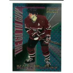 1994-95 TOPPS PREMIER THE GO TO GUY KIRK MULLER Insert Card # 11 MONTREAL