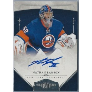 2010-11 Panini Dominion Nathan Lawson Rookie Autograph 071/199