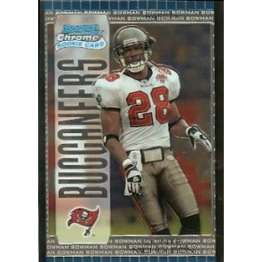 2005 Bowman Chrome Donte Nicholson Rookie