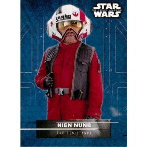 2016 Star Wars The Force Awakens Series Two Character Stickers Nien Nunb