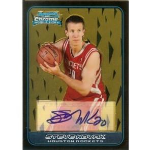 2006-07 Bowman Chrome Steve Novak Autograph Rookie