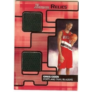 2007-08 Bowman Draft Picks & Stars Greg Oden Bowman Relics 088/199