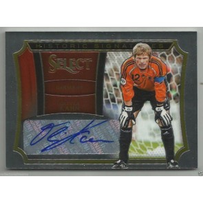 2015 PANINI SELECT SOCCER OLIVER KAHN HISTORIC SIGNATURES AUTO #070/199