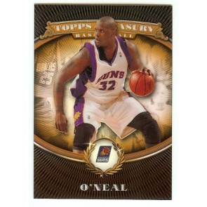 2007-08 Topps Treasury Shaquille O'Neal Single Refractor 931/999