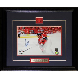 Alexander Ovechkin Washington Capitals Signed 8x10 Frame