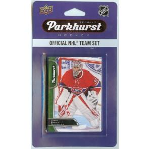 2016-17 Upper Deck Parkhurst Montreal Canadiens 10 Card Team Set - Price