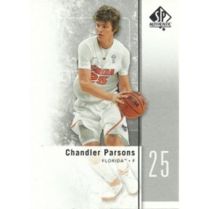2011-12 Upper Deck SP Authentic Chandler Parsons