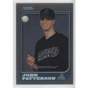 1997 Bowman Chrome John Patterson Rookie