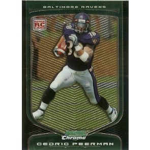 2009 Bowman Chrome Cedric Peerman Rookie