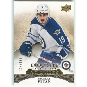 2015-16 ICE Exquisite Collection Nicolas Petan Rookies RC Card #114/399
