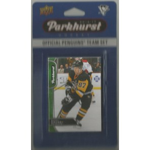2016-17 Parkhurst Pittsburgh Penguins Team Set Sidney Crosby 10 Card Set