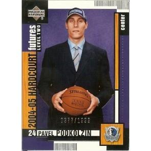 2004-05 Upper Deck Hardcourt Pavel Podkolzin Rookie 0377/1999
