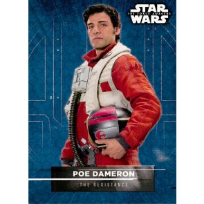 2016 Star Wars The Force Awakens Series 2 Character Stickers #8 Poe Dameron