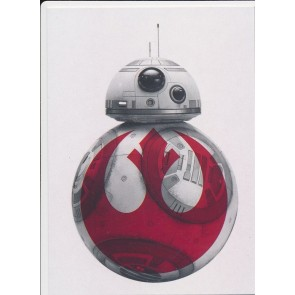 2017 Topps Star Wars Last Jedi # R-3 BB-8