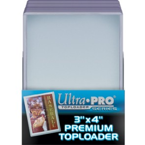 Ultra Pro 3x4 Premium Top Loaders 25 Count Pack (5 Lot)