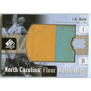 2011-12 Upper Deck SP Authentic J.R. Reid North Carolina Floor Authentics 2 color