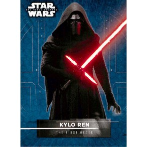 2016 Star Wars The Force Awakens Series 2 Character Stickers #3 Kylo Ren