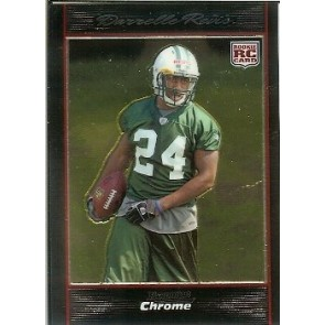 2007 Bowman Chrome Darrelle Revis Rookie