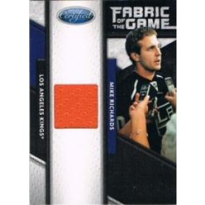 2011-12 Leaf Certified Mike Richards Fabric of the Game 119/399