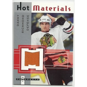 2005-06 Fleer Hot Prospects Danny Richmond Hot Materials Game Jersey