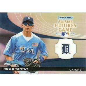 2012 Bowman Chrome Rob Brantly All-Star Futures Game