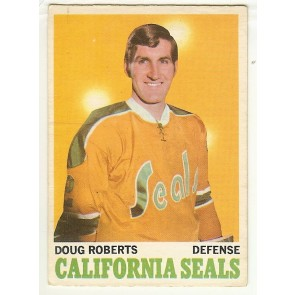 1970-71 O-Pee-Chee DOUG ROBERTS Base Single