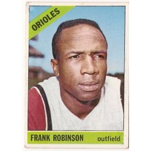 1966 Topps Frank Robinson Single Condition Good - VG