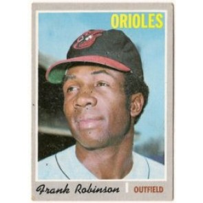 1970 Topps Frank Robinson Single Condition Good - VG
