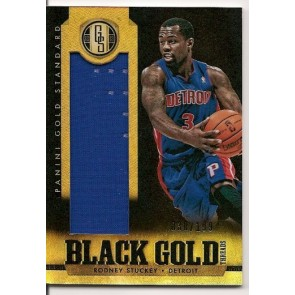 2012-13 Panini Gold Standard Rodney Stuckey Game Jersey 030/199