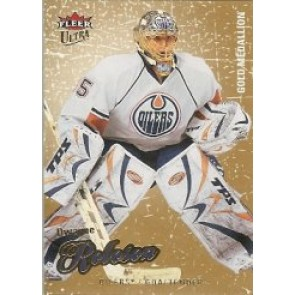 2008-09 Fleer Ultra Dwayne Roloson Gold Medallion