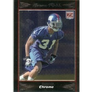 2007 Bowman Chrome Aaron Ross Rookie