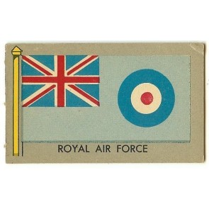 1950 Topps Flags of the World ROYAL AIR FORCE
