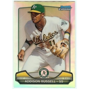 2013 Bowman Chrome Addison Russell Refractor Mini