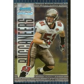 2005 Bowman Chrome Barrett Ruud Rookie
