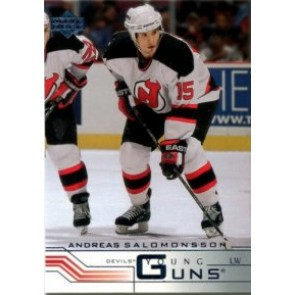 2001-02 Upper Deck Andreas Salomonsson Young Guns