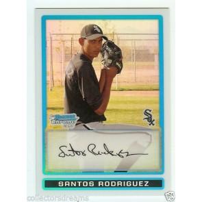 2009 Bowman Chrome Prospects Santos Rodriguez Refractor #BCP173 #'d 203/500