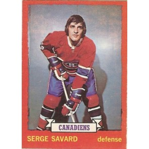 1973-74 O-Pee-Chee Card # 24 Serge Savard NM-MT Montreal