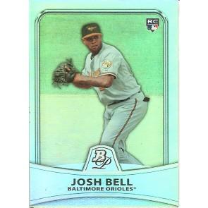 2010 Bowman Platinum Rookie Josh Bell 390/999