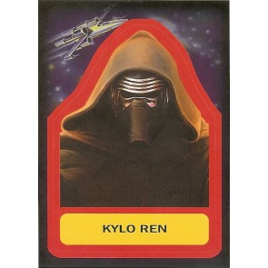 2015 JOURNEY TO STAR WARS THE FORCE AWAKENS STICKER KYLO REN #S-11