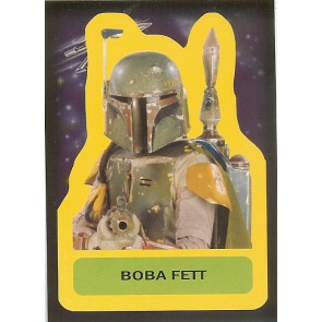 2015 JOURNEY TO STAR WARS THE FORCE AWAKENS STICKER BOBA FETT #S-15