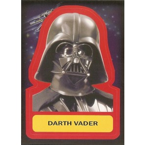 2015 JOURNEY TO STAR WARS THE FORCE AWAKENS STICKER DARTH VADER #S-14