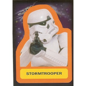 2015 JOURNEY TO STAR WARS THE FORCE AWAKENS STICKER STORMTROOPER #S-16