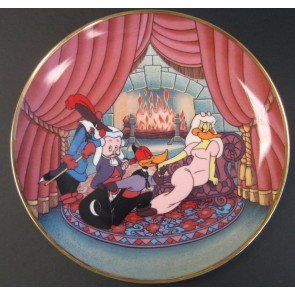 Scarlet Pumpernickel Looney Tunes Collectible Plate