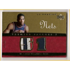 2007-08 Upper Deck Premier Sean Williams Premier Patches 4 color 11/25