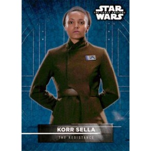 2016 Star Wars The Force Awakens Series Two Character Stickers Korr Sella