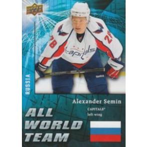 2009-10 Upper Deck Alexander Semin All World Team