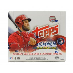 2018 Topps Series 2 Baseball Jumbo HTA Box